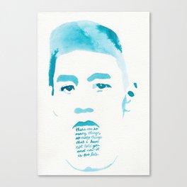 LAST WORDS//ZHOU ENLAI Canvas Print