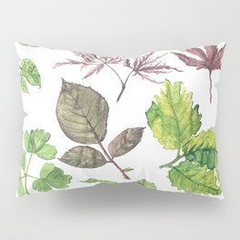 the daily creative project: leaves Pillow Sham