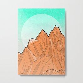 Sand Mountain Metal Print