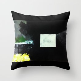 Duality Plate Throw Pillow