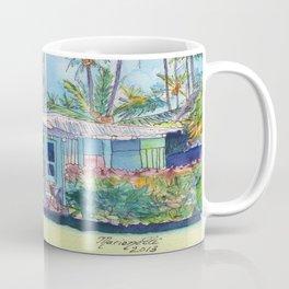 Kauai Blue Cottage 2 Coffee Mug