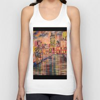 minneapolis Tank Tops featuring Minneapolis  by Kali Koltz