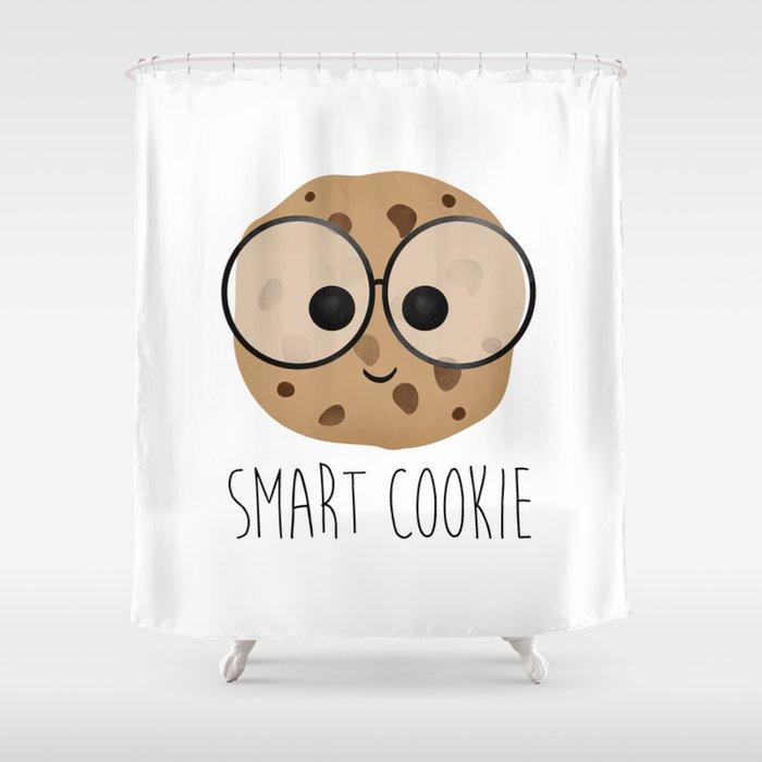 Smart Cookie Shower Curtain