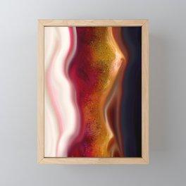 Fault Framed Mini Art Print