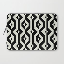 Modern bold print with diamond shapes Laptop Sleeve