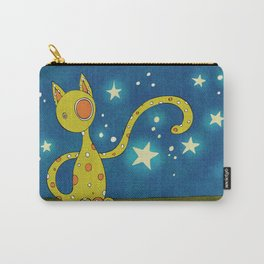 Olive the Starry Cat Carry-All Pouch