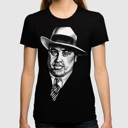 Al Capone Mobster Mug Shot T-shirt