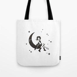 The Girl Who Kills The Moon Tote Bag