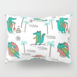 Alligator vacation tropical gator life palm beach socal florida gators Pillow Sham