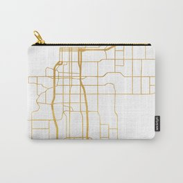 ANCHORAGE ALASKA CITY STREET MAP ART Carry-All Pouch