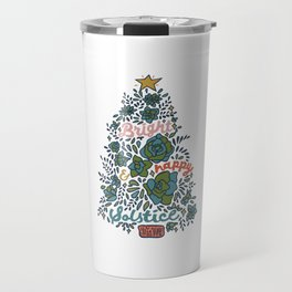 Bright and Happy Solstice Travel Mug