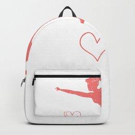 Just A Girl Who Loves Gymnastics Dancer Gymnast Backpack