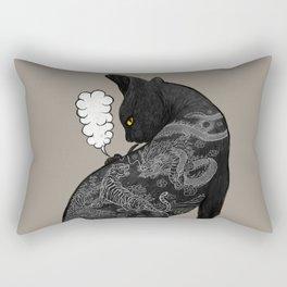 TATTOO CAT Rectangular Pillow