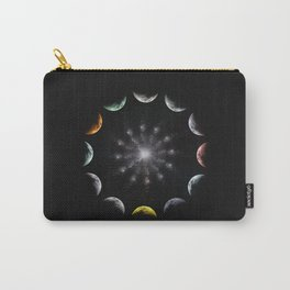 Twelve Moons Carry-All Pouch