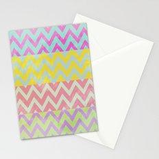 Chevron Summer Stationery Cards