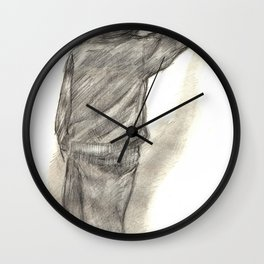 Catchin' tags two Wall Clock