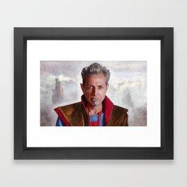 The Grand Master Of Sakaar - Ragnarok Framed Art Print