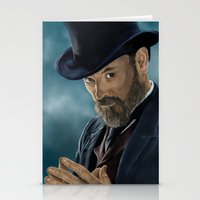 moriarty Stationery Cards featuring Professor Moriarty by San Fernandez