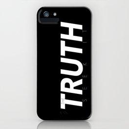 Inverse Truth iPhone Case