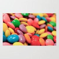 confetti Area & Throw Rugs featuring Confetti by Studio Laura Campanella