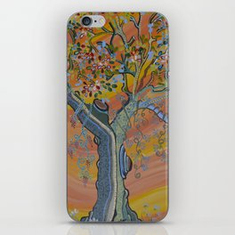 """""""Deciduous in Bloom"""" by ICA PAVON iPhone Skin"""
