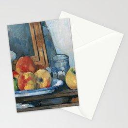 Paul Cezanne - Nature morte au tiroir ouvert Stationery Cards