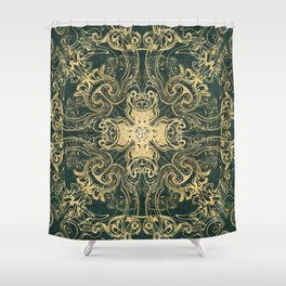 Royal Labradorite Shower Curtain