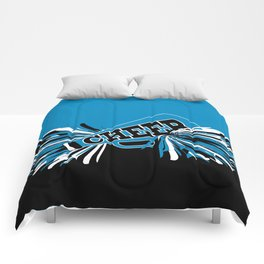 Blue Cheerleader Comforters