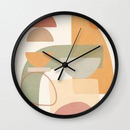 Verde Geometry 2 Wall Clock