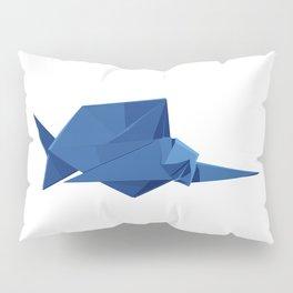 Origami Sailfish Pillow Sham