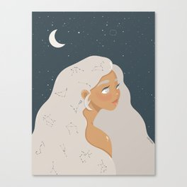 Zodiaque Canvas Print