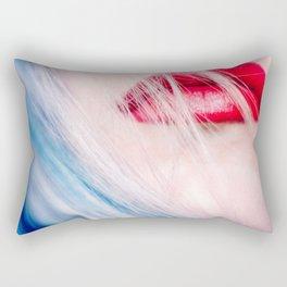 Red lips Rectangular Pillow