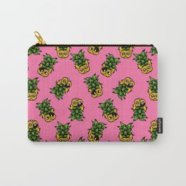 Pineapple Frenchie Carry-All Pouch