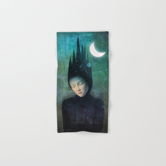 Moonlit Night Hand & Bath Towel