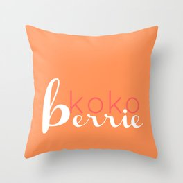 kkbp1 Throw Pillow