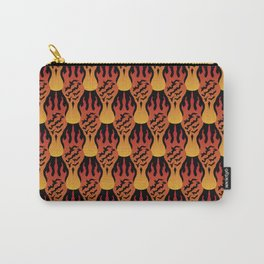 SCORCH pattern [BLACK] Carry-All Pouch