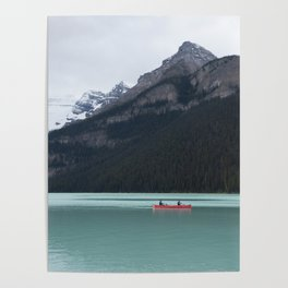 Lake Louise Quiet and Peace Poster