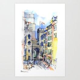 Porta Soprana Art Print