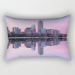 Boston before sunrise Rectangular Pillow