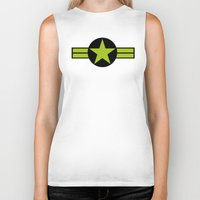 top gun Biker Tanks featuring Top Gun by FilmsQuiz