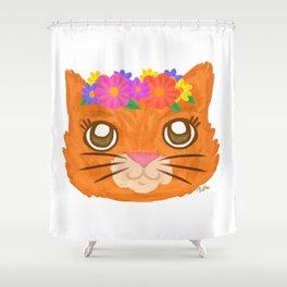 Frida Cat Shower Curtain