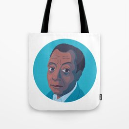 Queer Portrait - James Baldwin Tote Bag