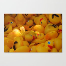 duck you. i mean DUCK YOU! DYAC Canvas Print