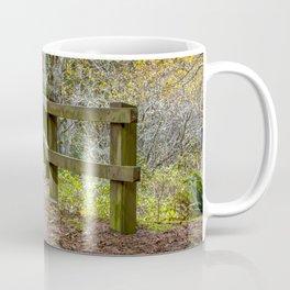 Fogarty Creek State Recreational Area, Bridge, Forest, Green, Autumn, Coffee Mug