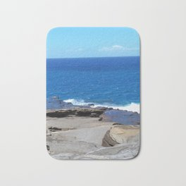Softer Hawaiian Coastline Bath Mat