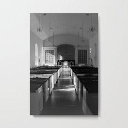 Meeting House Metal Print