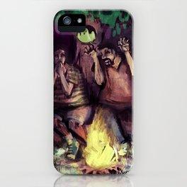 boyfriends camping iPhone Case