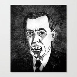 28. Zombie Woodrow Wilson  Canvas Print
