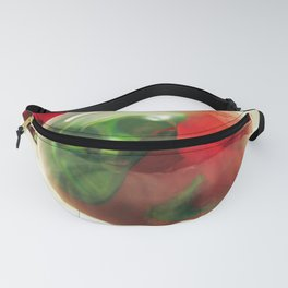 Red Roses Floral Visual Effect Art Photography Fanny Pack