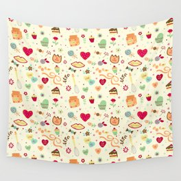 Cake Pattern Wall Tapestry